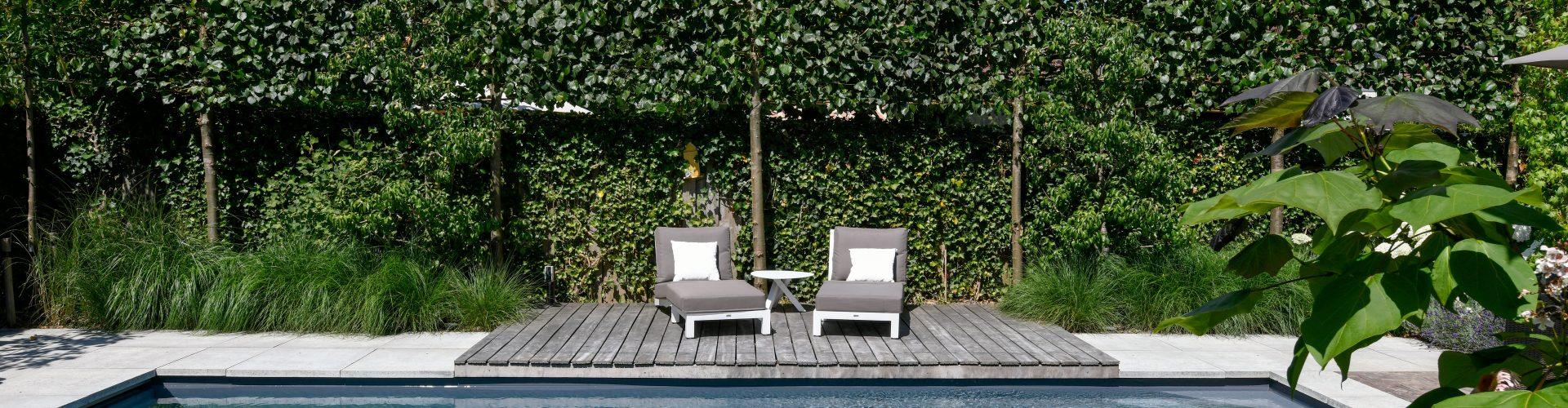 Zwembad aanleggen Houten